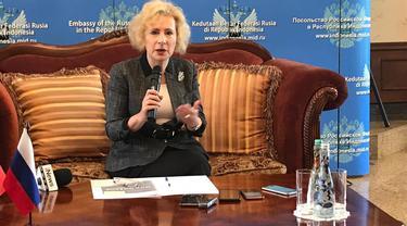 Duta Besar Russia di Indonesia Lyudmila Vorobieva (Liputan6.com/Windy Febriana)