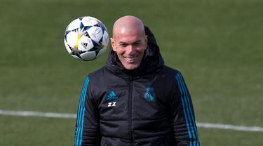 Mengintip Sesi Latihan Real Madrid Jelang Hadapi PSG