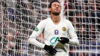Neymar saat pertandingan PSG melawan Rennes di Stade de France dalam final Coupe de France (28/4/2019). (AFP/Martin Bureau)