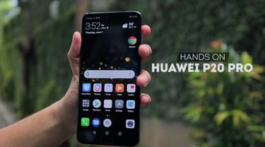 Hands-On Huawei P20 Pro