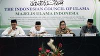 Menkeu Sri Mulyani melakukan kunjungan silahturahmi ke kantor Majelis Ulama Indonesia (MUI) pada Selasa 22 Mei 2018 (Foto:Facebook Menkeu Sri Mulyani)