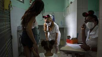FOTO: Vaksinasi Covid-19 bagi Anak Usia 2 Tahun di Kuba