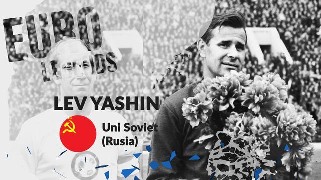 Legenda Uni Soviet (Rusia): Lev Yashin. (Bola.com/Dody Iryawan)