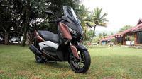 Yamaha XMax mengusung mesin berkapasitas 250 cc. (Septian/Liputan6.com)