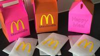 Seorang ibu di Inggris membuat sajian Mumdonalds untuk anaknya usai penutupan McDonalds (Dok.Facebook/Extreme Couponing and Bargains UK)