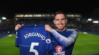 Pemain anyar Chelsea, Jorginho. (Twitter/Chelsea)