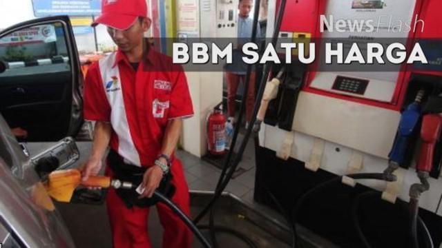 Kementerian Energi dan Sumber Daya Mineral (ESDM) akan memberikan sanksi bagi badan usaha yang tidak menjalankan program BBM Satu Harga di seluruh Indonesia mulai Januari 2017.
