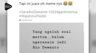 Warganet memberikan reaksi yang di luar dugaan atas berita tentang Ratna Sarumpaet. Mereka ramai-ramai menyerukan deukungan kepada sang menantu dengan menyerukan #SaveRioDewanto.
