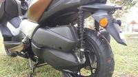 Suspensi belakang Yamaha X-Max 250 (Septian/Liputan6.com)