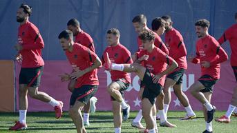 FOTO: Intip Latihan Atletico Madrid Jelang Hadapi AC Milan di San Siro