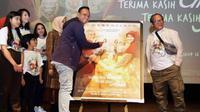 Anas Syahrul Alimi saat jumpa pers Film TETA
