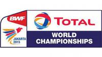 Logo Kejuaraan Dunia BWF 2015