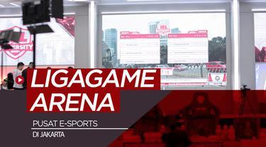 Berita video mengunjungi Ligagame Arena, pusat E-Sports yang bakal dibangun megah di Jakarta.
