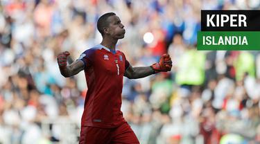 Berikut fakta-fakta menarik terkait kiper Islandia, Hannes Halldorsson, yang menahan penalti bintang Argentina, Lionel Messi, di Piala Dunia 2018.