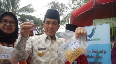 Pjs Wako Akui Banyak Makanan Berformalin Dijual Bebas di Palembang