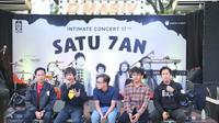 D'Masiv di kawasan SCBD, Jakarta Selatan, Selasa (3/3/2020). (Daniel Kampua/Fimela.com)