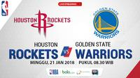 Houston Rockets Vs Golden State Warriors_2 (Bola.com/Adreanus Titus)