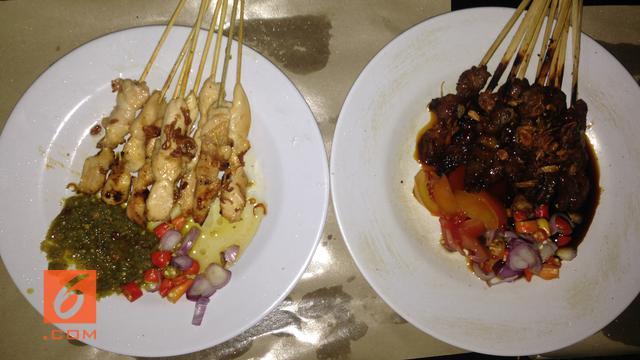 Kuliner Malam Jumat Sate Sambas Haji Rofii Sajian Nikmat