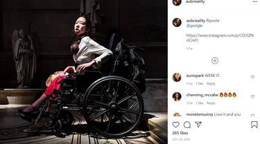 Aktivis Disabilitas Aubrie Lee