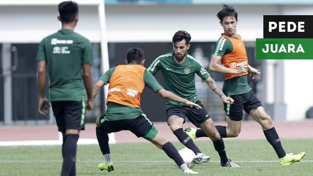 Gelandang Timnas Indonesia, Bayu Pradana yakin Timnas Indonesia bisa menjadi juara di Piala AFF 2018.