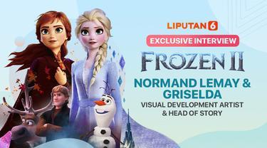 Wawancara eksklusif dengan Griselda Sastrawinata, orang indonesia yg bekerja di Disney Amerika. Ia menjadi Visual Development Artist film frozen. Suaminya, Normand Lemay juga bertanggung jawab sebagai Head of Story frozen 2.