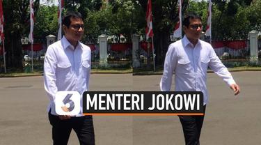 Mantan CEO NET Televisi Wishnutama mendatangi Istana, Senin pagi ini (21/10/2019). Wishnutama mengaku kedatangannya tersebut karena dihubungi protokol istana untuk bertemu Presiden Jokowi.