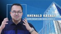 Rhenald Kasali menularkan knowledge-nya soal digital disruption yang bakal menggoyang kemapanan industri pariwisata.