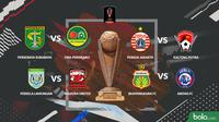 Piala Presiden 2019 Hasil Undian Delapan Besar (Bola.com/Adreanus Titus)
