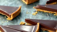 Pie cokelat. (Sumber Foto: parischezsharon/Instagram)