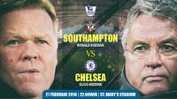 Southampton vs Chelsea (liputan6.com/desi)