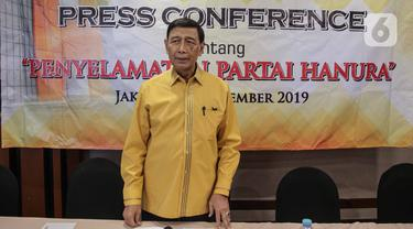 Wiranto Resmi Mundur dari Partai Hanura