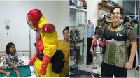 Dokter pakai APD pahlawan super (Sumber: Instagram/erric_manibuy)