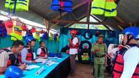 TPS bernuansa olah raga wisata Tubing menghiasi TPS 1 Winong, Banjarnegara. (Liputan6.com/Suprihadi P/Muhamad Ridlo)