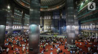 Renovasi Masjid Istiqlal Rampung Maret 2020