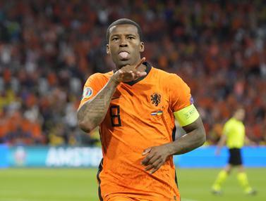 Belanda Susah Payah Kalahkan Ukraina di Euro 2020