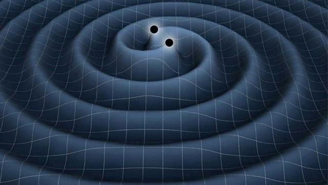 Ilustrasi gelombang gravitasi