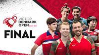 Final Denmark Open 2021 Minggu, 24 Oktober 2021