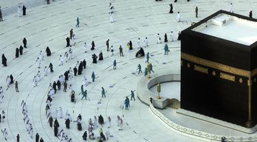 FOTO: Suasana Awal Ramadhan di Masjidil Haram