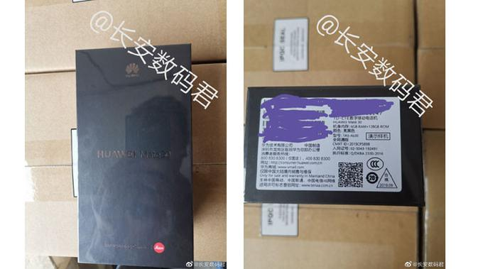 Bocoran boks Huawei Mate 30 yang beredar di internet. (Doc: Gizchina)