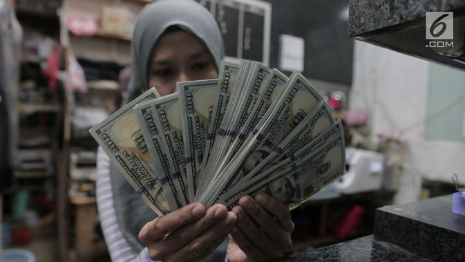 Dolar AS Melemah, Rupiah Mampu Lanjutkan Penguatan