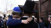 Ilustrasi Yahudi (AP/Giannis Papanikos)