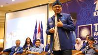 Ketua Umum Partai Amanat Nasional (PAN) Zulkifli Hasan saat berkampanye di Kota Bandung, Jawa Barat. (Istimewa)
