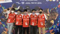 Capital Esports juara 3 pertandingan persahabatan Lokalapa di PON XX Papua 2021. (Liputan6.com/ Yuslianson)