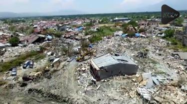 Wilayah Petobo di Palu Sulawesi Tengah adalah wilayah yang paling parah terkena gempa diperkirakan ratusn orang masih terkubur di wilayah tersebut