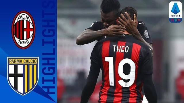 Berita video highlights laga pekan ke-11 Liga Italia 2020/2021 antara AC Milan melawan Parma yang berakhir dengan skor 2-2, Senin (14/12/2020) dinihari WIB.