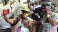 Begini serunya Colour Run Festival Pesona Danau Limboto 2018.