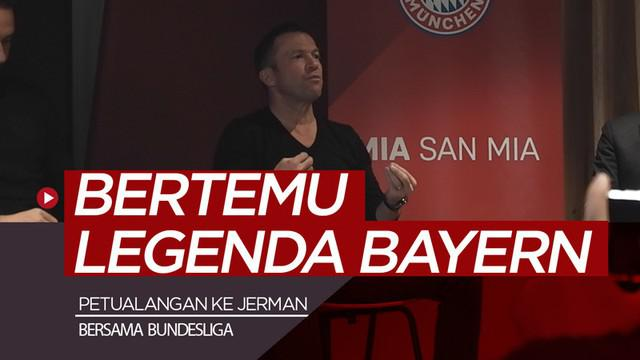 Berita video vlog kali ini langsung dari Jerman bersama jurnalis Bola.net, Asad Arifin, yang menjalani petualangan dengan Bundesliga dan bertemu 3 legenda Bayern Munich.