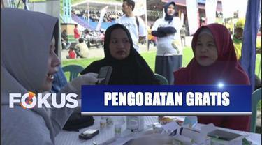 YPP SCTV-Indosiar bekerja sama dengan Kementerian Sosial dan Pemprov Kalimantan Selatan membuka pengobatan gratis.