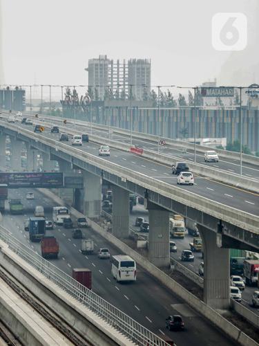Beroperasi, Tol Layang Japek II Sudah Dilalui Kendaraan