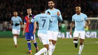 Ilkay Gundogan meminta rekan-rekannya di Manchester City untuk tetap fokus. (doc. UEFA)